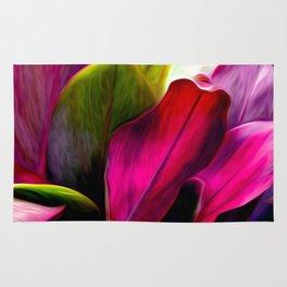 Ti Leaf Bouquet Rug