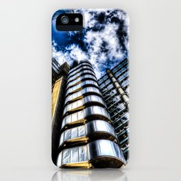 The Lloyd's and Willis Group Buildings iPhone Case
