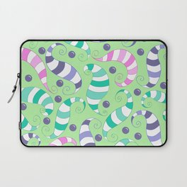 Crazy Twisters Pattern Print Laptop Sleeve