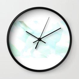Kaze ni tatsu ookami Wall Clock