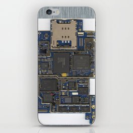 iPhone Guts iPhone Skin