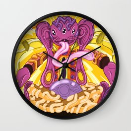 Ideal Simian Self Wall Clock