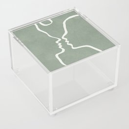 Abstract Couple Acrylic Box