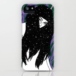 The Universe Within iPhone Case