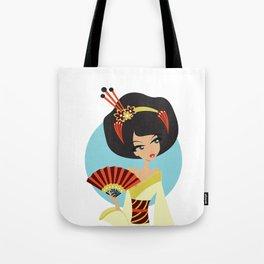 A Geishas Autumn Tote Bag