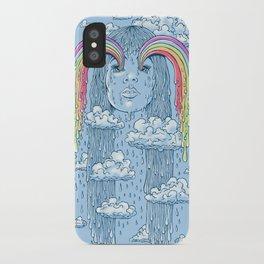 Rainface iPhone Case