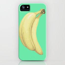 Cool mint banana iPhone Case