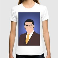 anchorman T-shirts featuring Brick Tamland - Anchorman by Tom Storrer