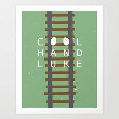 Cool Hand Luke Art Print
