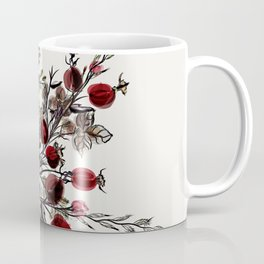 Watercolor floral background Coffee Mug