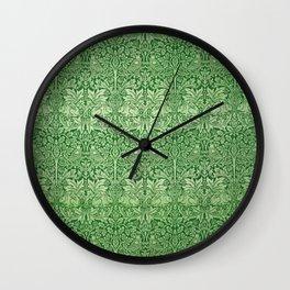 "William Morris ""Brer rabbit"" 3. Wall Clock"