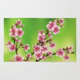 Cherry Blossom - Variation 3 Rug