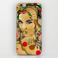 dots iPhone & iPod Skins featuring Dots by Irmak Akcadogan