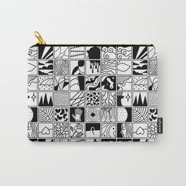 extraordinary spaces - pattern Carry-All Pouch