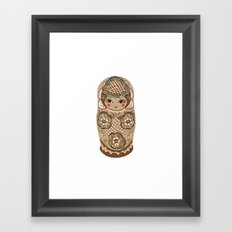 Matrushka Framed Art Print