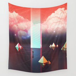 Low cost time travel Wall Tapestry