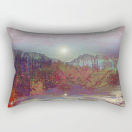 Dawn Painted Hills Rectangular Pillow