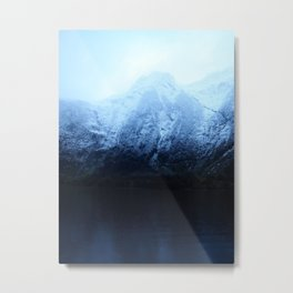 Boating in Taiparariki (Doubtful Sound) 3 Metal Print