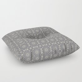 8 point Pattern (Gray, Oyster Beige) Floor Pillow