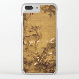 Shen Nan Pin - A Birthday Painting  Qing Dynasty Clear iPhone Case