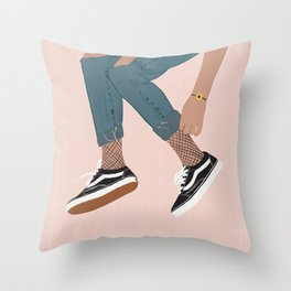 Vans Lover Throw Pillow