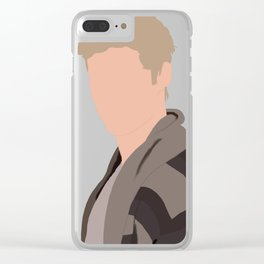 Isaac Lahey Portrait Clear iPhone Case