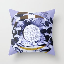 LAVENDER  CONNECTION Throw Pillow