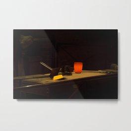 Bar of Gold Metal Print