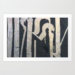 IRONY Art Print