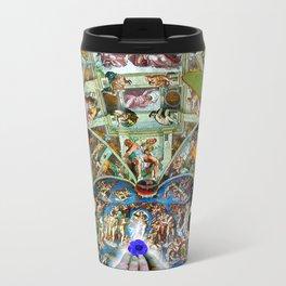 Butterfly in Cappella Sistina SistineChapel Travel Mug