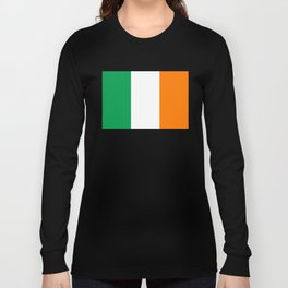 Flag of the Republic of Ireland Long Sleeve T-shirt