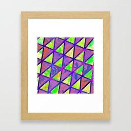 Stepping Boundaries Framed Art Print