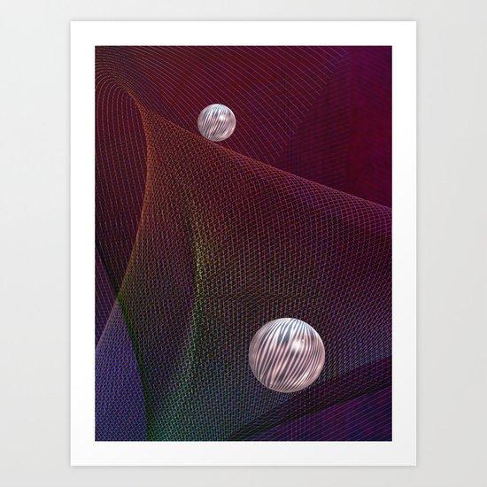 Balls 6 Art Print