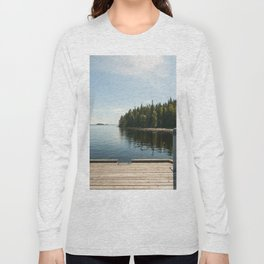 Sunny Day at the Dock Long Sleeve T-shirt
