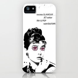 Delusional Lady iPhone Case