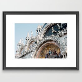 Basilica San Marco Framed Art Print