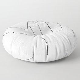surf Floor Pillow