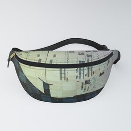 On The Spatial Grid Fanny Pack