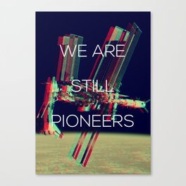 Pioneers Canvas Print