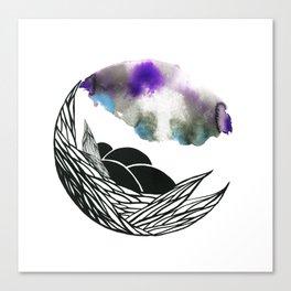 Home sky Canvas Print