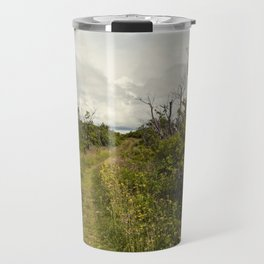 a path in the highlands Travel Mug