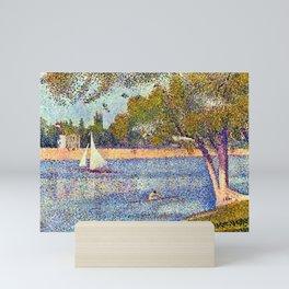 Georges Seurat The Seine and la Grande Jatte - Springtime Mini Art Print
