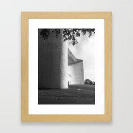 Ronchamp Chapel 002 Framed Art Print