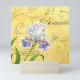 Purple and White Iris Mini Art Print