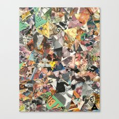 cateyewrestleparty Canvas Print