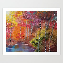 Seasons of Change Art Print
