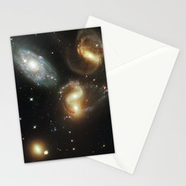 Galactic wreckage Stationery Cards