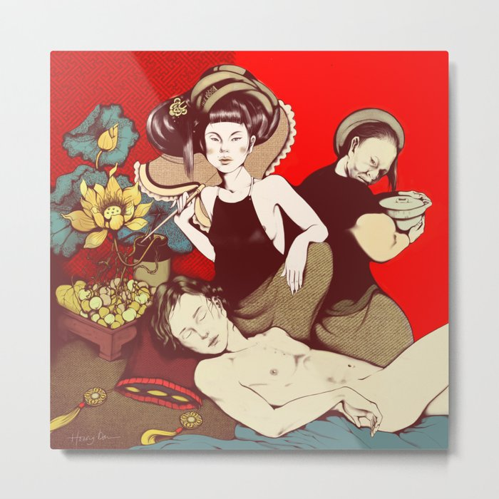jealousy / Mother & Daughter in law Metal Print