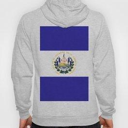El Salvador flag emblem Hoody