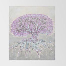 Tree of Life Lightness of Air Throw Blanket